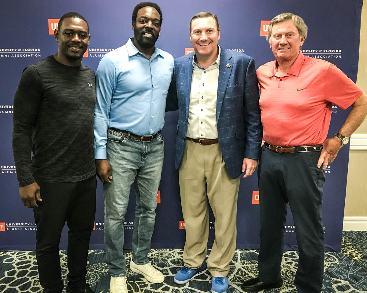 """Football is a team game that relies on accountability. If you have a team full of accountable people, you have trust in your organization."" - @CoachDanMullen    🐊 #GatorNation 