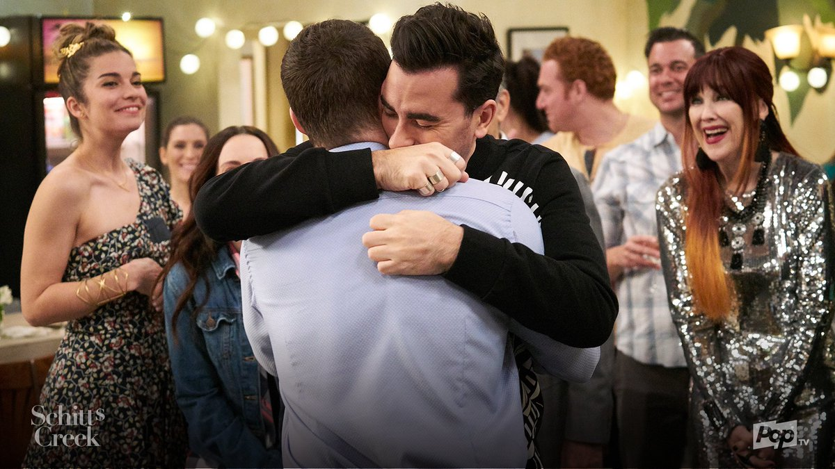 Tonight's episode of #SchittsCreek gave us all the feels. If you or someone you know is struggling with coming out around sexual orientation or gender identity, visit http://poptv.com/SchittsCreek  for resources.