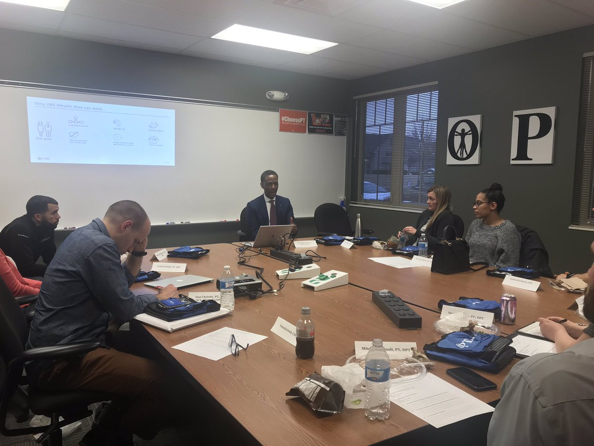 """Our EP SIG """"Financial Wellness 101"""" program kicked off tonight at #OPTA. Thanks to Mose Richardson, Jr. for presenting insightful information on having A PLAN. #FreshPT"""