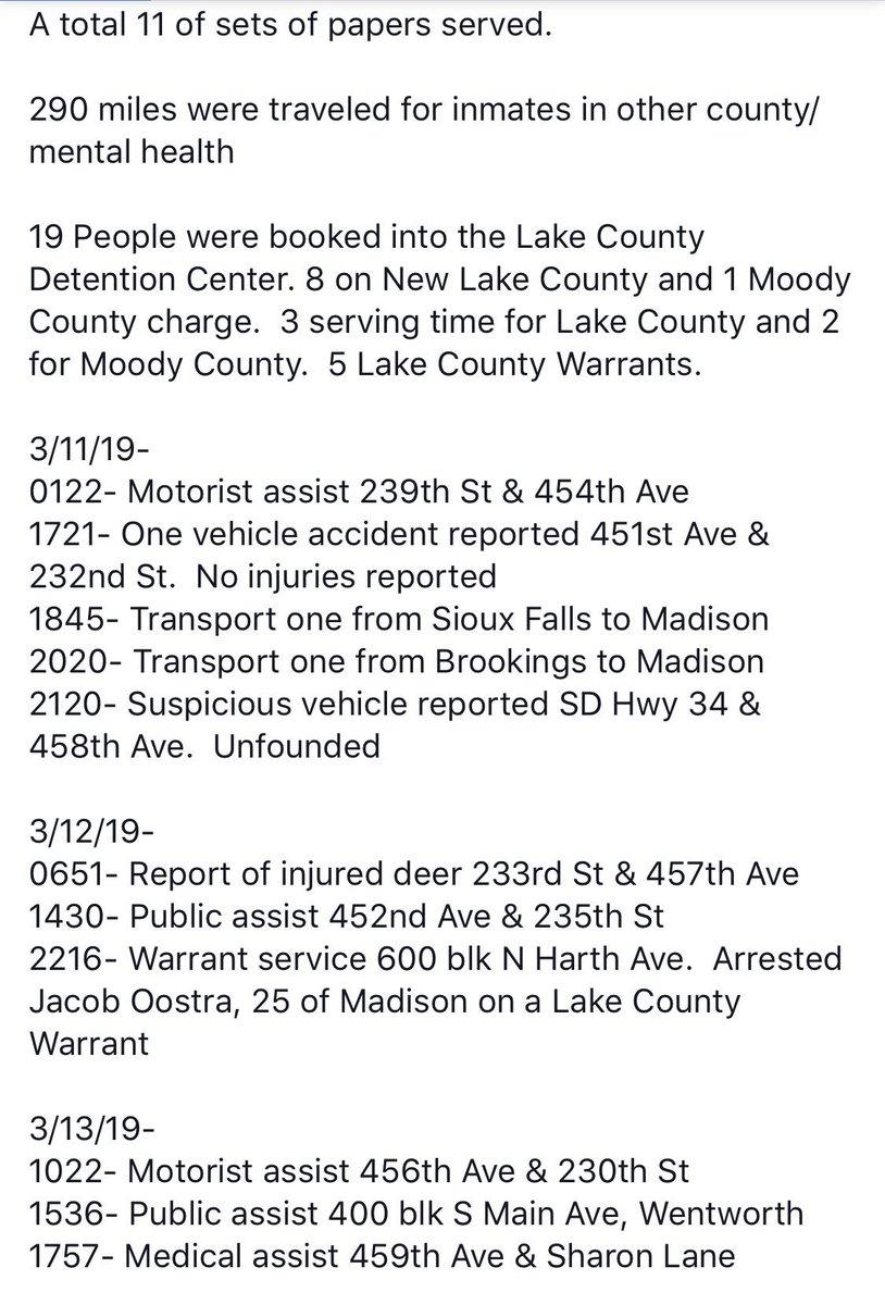 Lake County Sheriff's Office, SD (@LakeCoSDSheriff) | Twitter