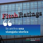 Image for the Tweet beginning: Oggi l'agenzia di rating #Fitch