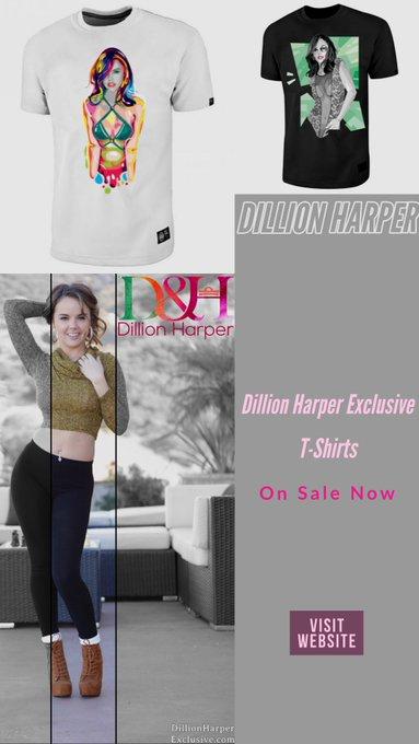 Dillion Harper t-shirts on sale 🥰  https://t.co/dA9X56vLAN https://t.co/ifguoTHhMj