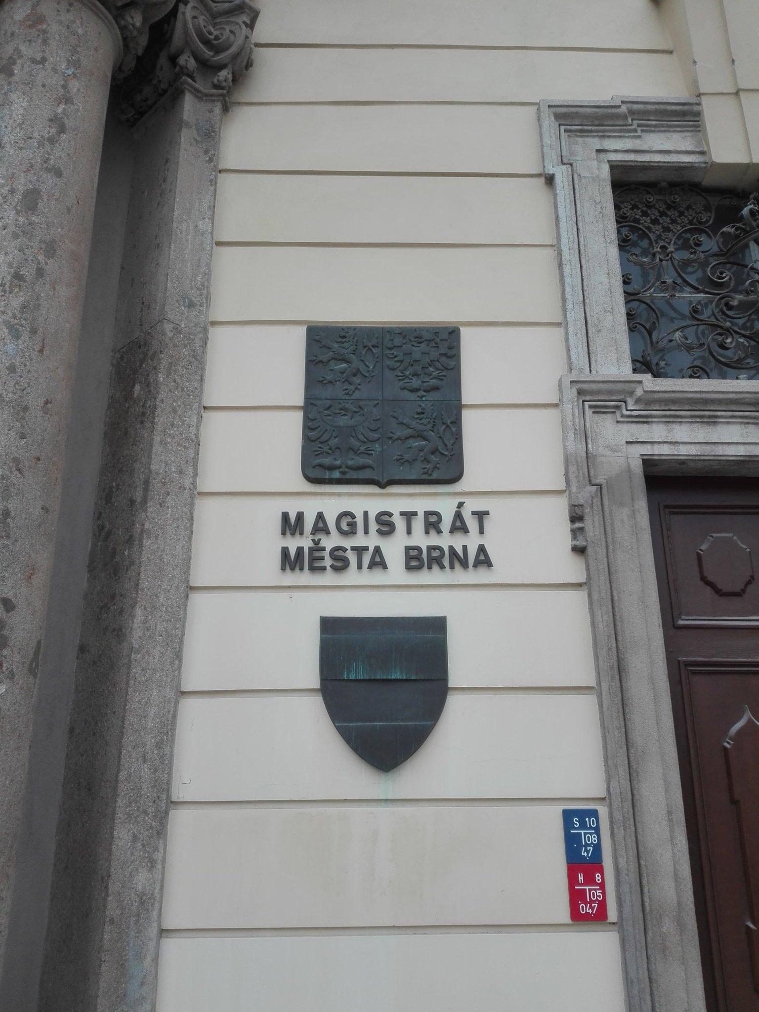 Magistrát města Brna. Foto: Patrik Švec