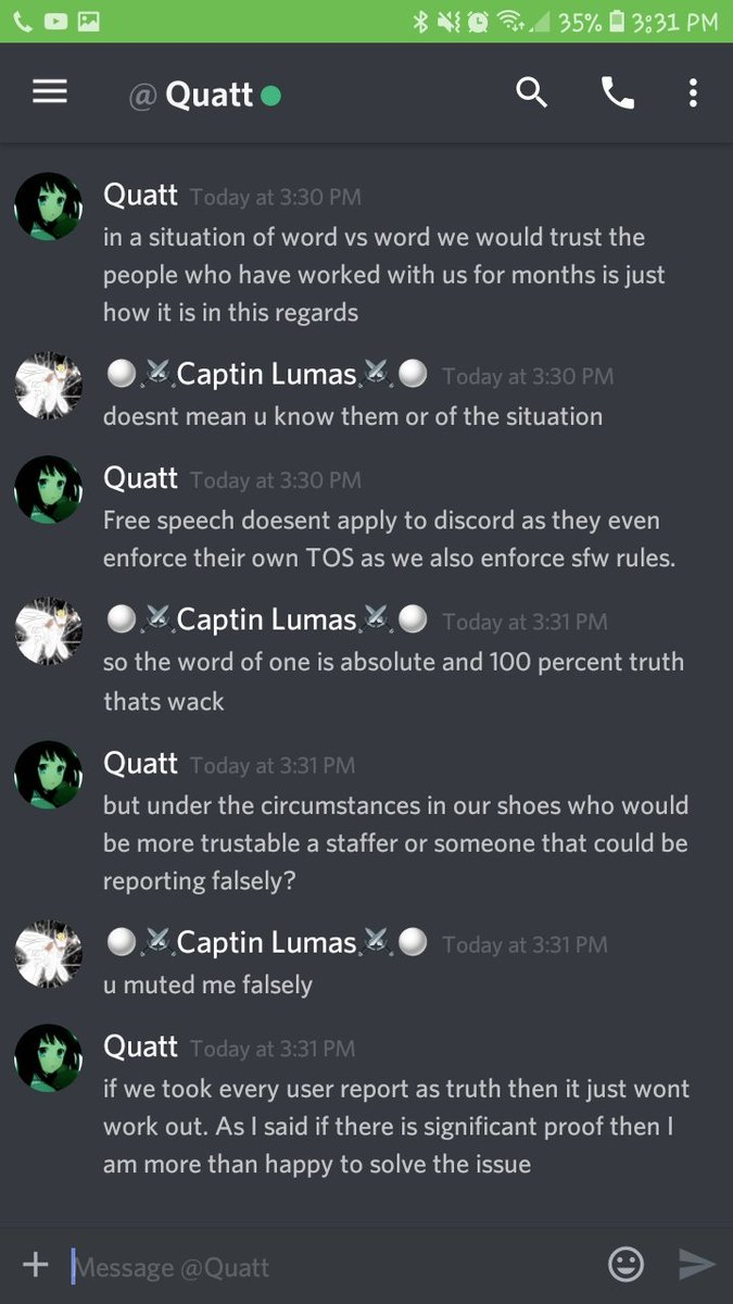 This is why i hate discord @Official_TVC @_Hero_Hei_  #Discord #Tyranny #powertrip #wtfmoments #WTH #ihatemylife  https://twitter.com/gypsumwitcher/status/1108449777694490625/photo/1 <br>http://pic.twitter.com/dQEmJhfwvR  &nbsp;  <br>http://pic.twitter.com/zU3G0NS4da
