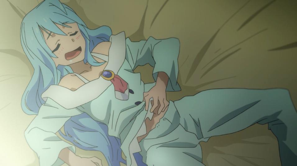 Little Rebel Amanda On Twitter Anime Characters Seem To Need Funny Sleeping Poses