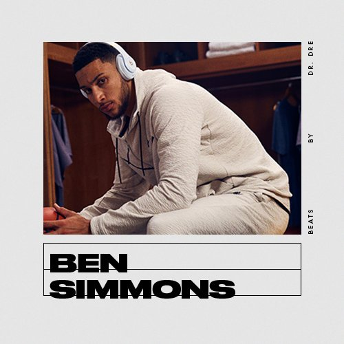 """Sometimes, you just need a little bit of everything.""  Listen to @BenSimmons25's multi-genre pregame playlist, only on @AppleMusic: http://apple.co/bs25"