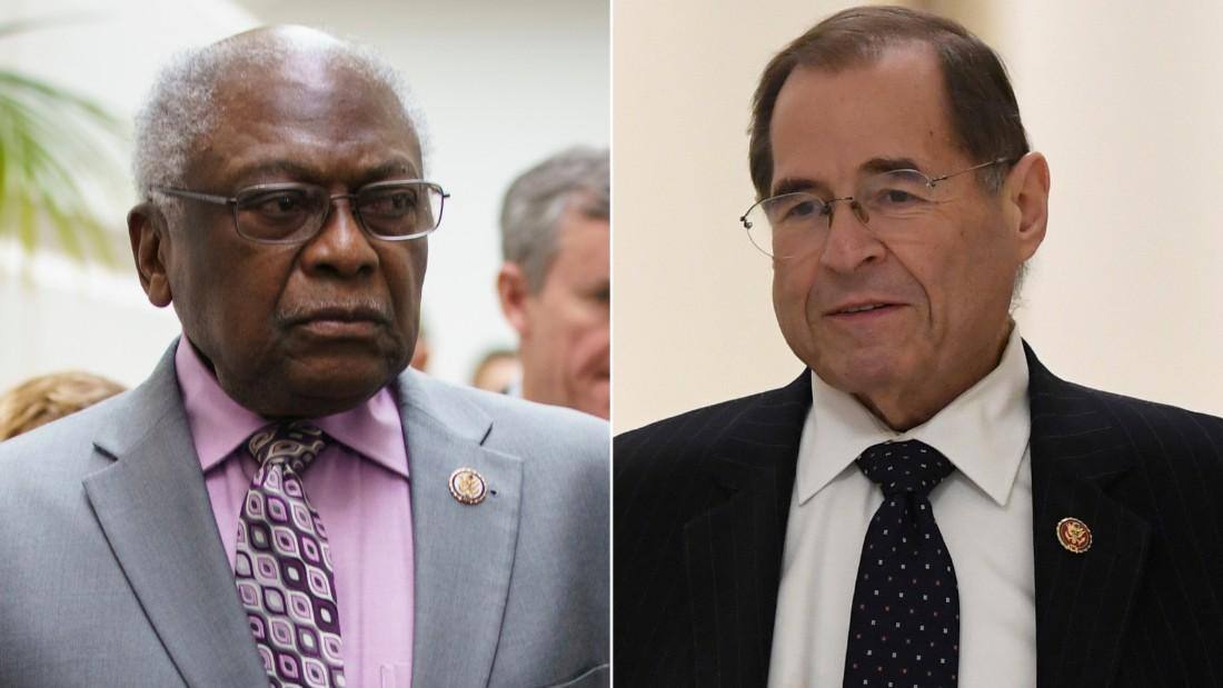 Two powerful House Democrats have invoked Hitler's actions in Germany and the treatment of Jews during WWI and in the 1920s to warn against the direction the US is moving in, with both saying Trump's presidency presents an unprecedented threat to democracy https://cnn.it/2Jt6Xd5