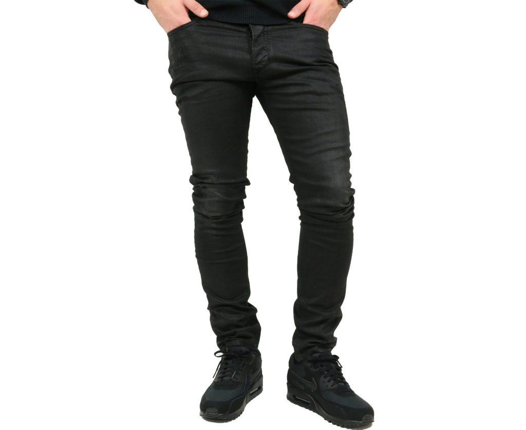 86504d0f DIESEL TEPPHAR 0671E W32 L32 Mens Denim Jeans D.N.A Division Slim Fit  Carrot ...