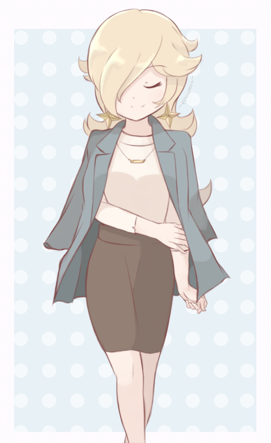 A new casual outfit for Rosalina! <br>http://pic.twitter.com/qp7RwaNyNj