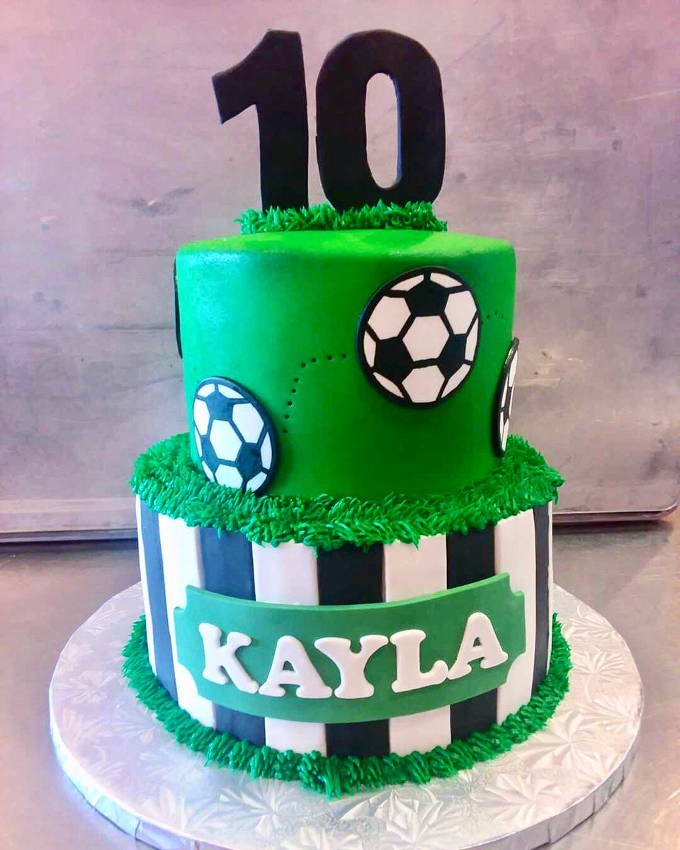 Awesome Frostings On Twitter We Love This Soccer Cake Soccer Personalised Birthday Cards Paralily Jamesorg