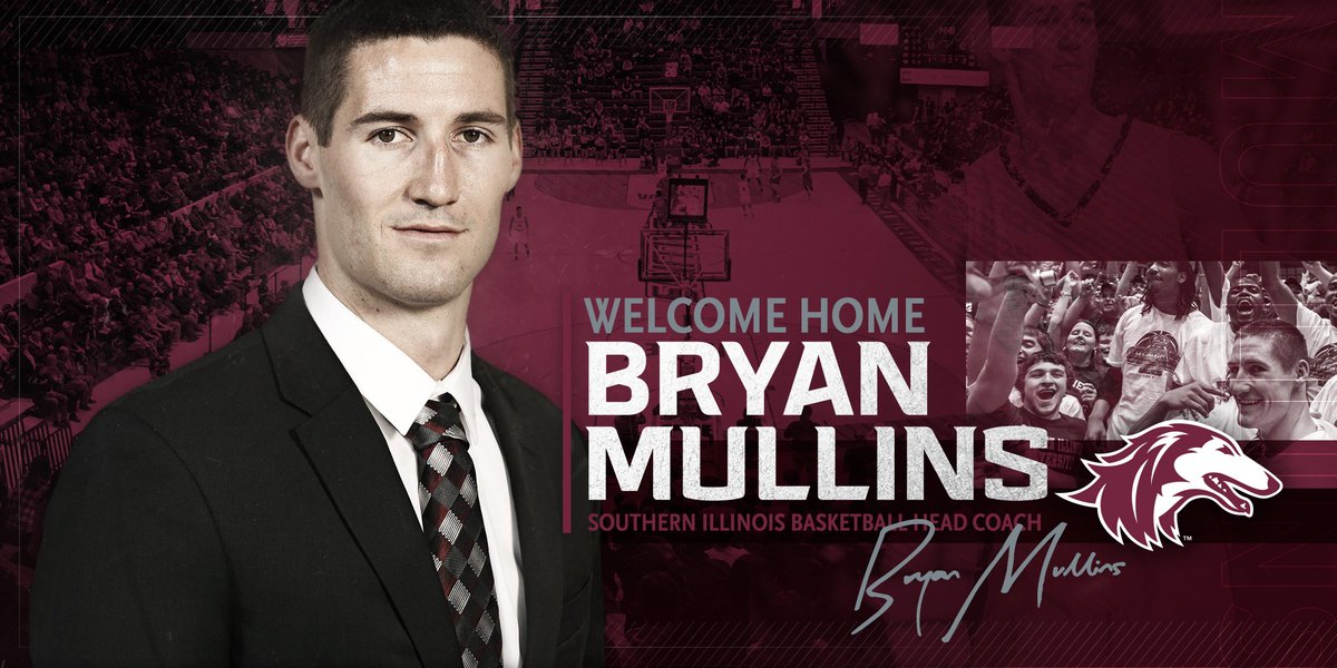 Welcome home Bryan Mullins!  https://siusalukis.com/news/2019/3/20/mens-basketball-bryan-mullins-named-saluki-basketball-head-coach.aspx…