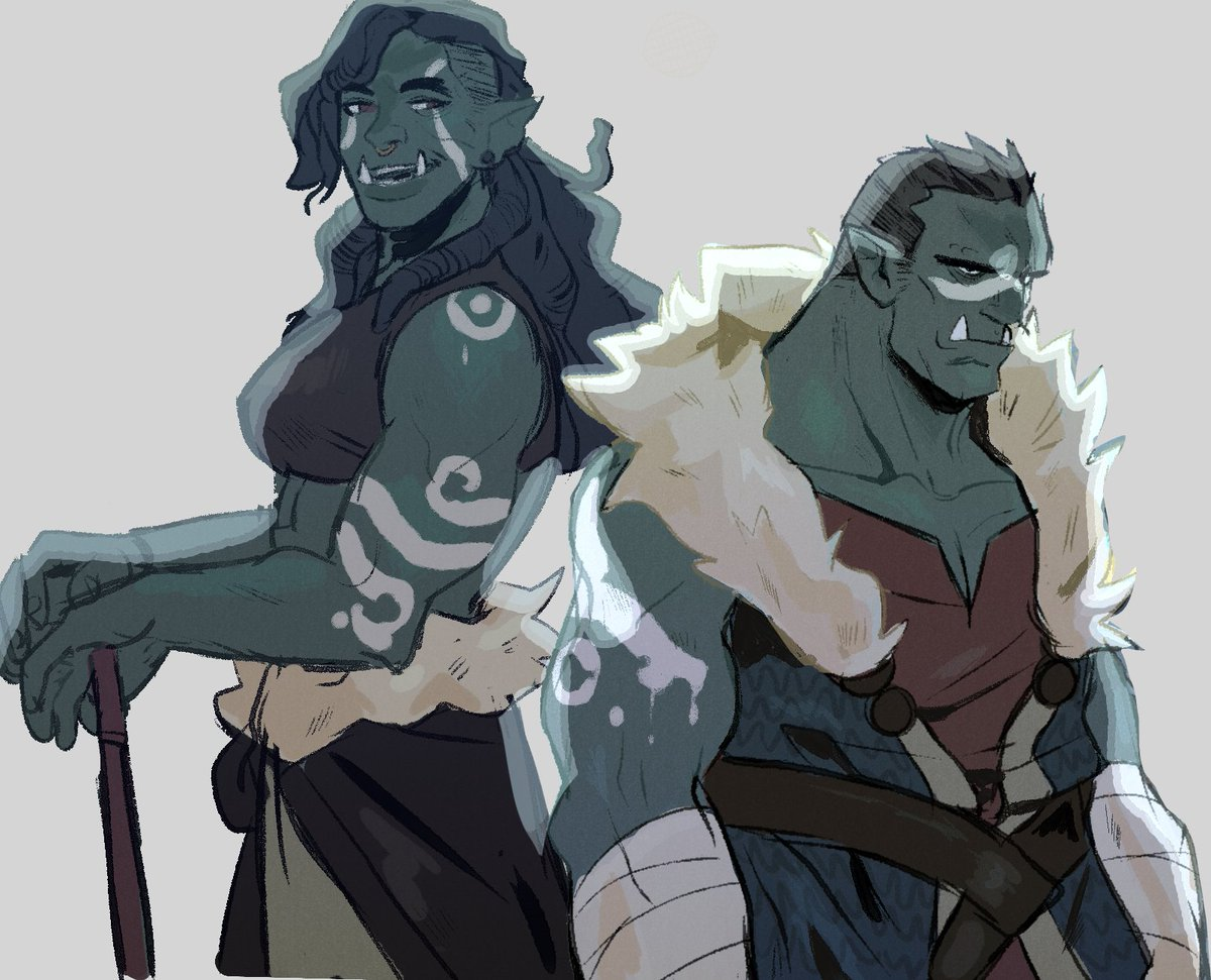 drawing orcs is so therapeutic~ <br>http://pic.twitter.com/A1Y5FMYB8l