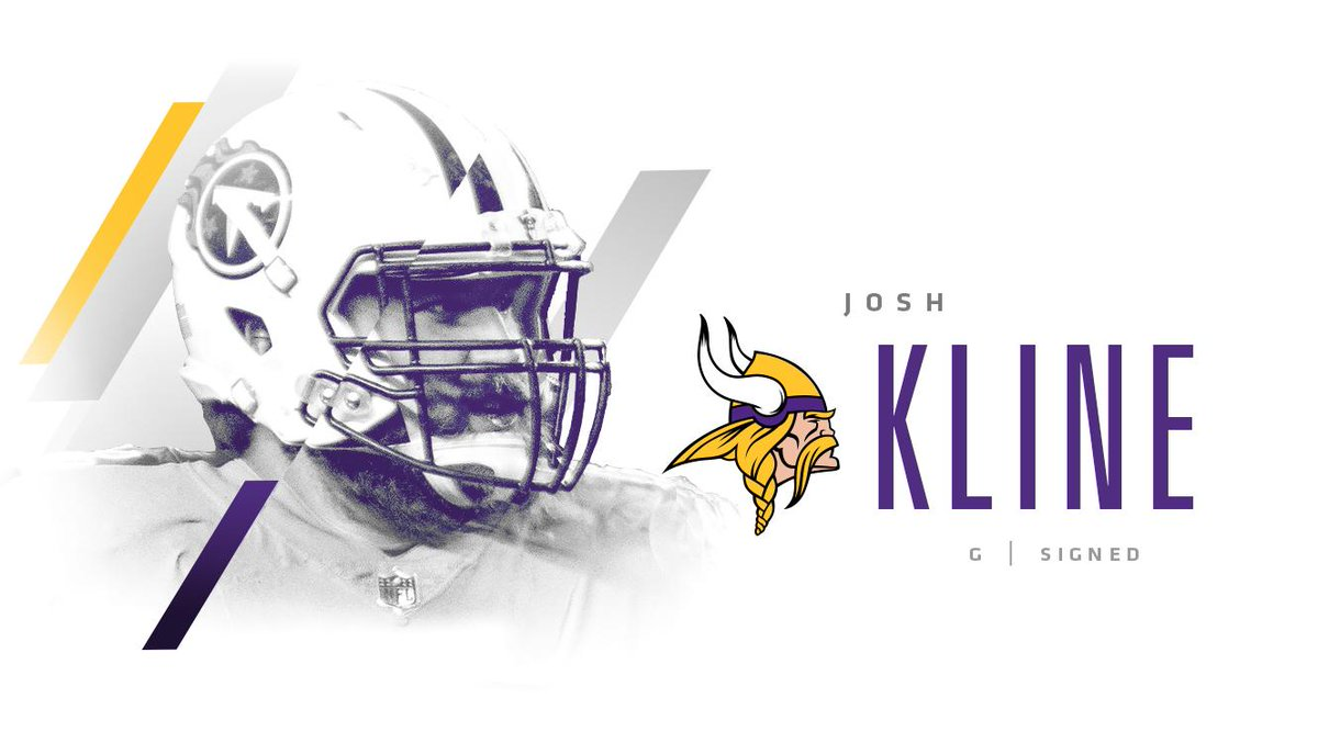 Minnesota Vikings's photo on Josh Kline