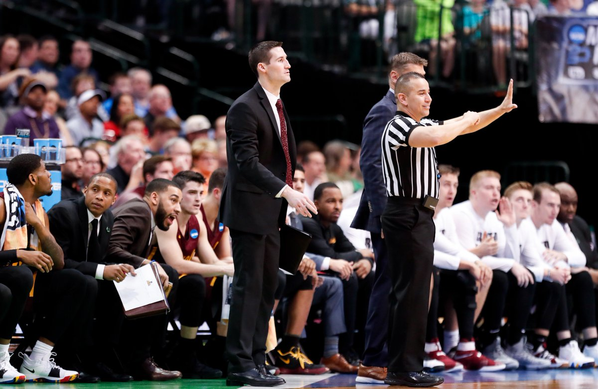 Congratulations to #Loyola associate head coach @Bryan_Mullins_ on his appointment as head coach at his alma mater @SIUSalukis! Thank you for your contributions to the #Ramblers program the last six seasons! https://t.co/CN5MIrxuw0 #OnwardLU #MVCHoops https://t.co/WsPNd9z11h
