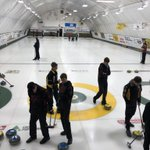 Image for the Tweet beginning: Day 1 #OFSAACurling for BR