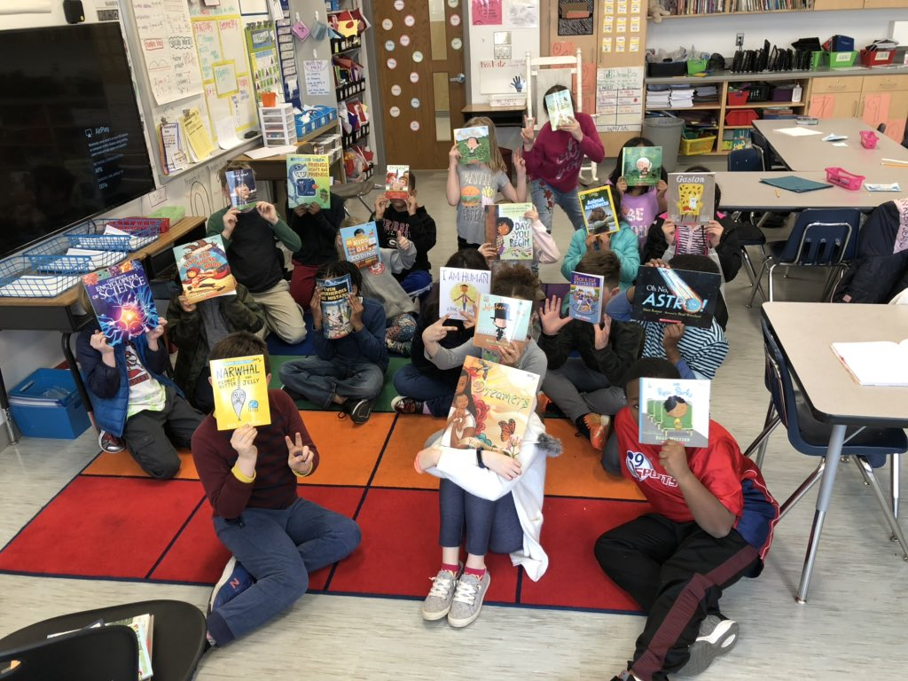 RT <a target='_blank' href='http://twitter.com/MissKatz1'>@MissKatz1</a>: The newest additions to our classroom library arrived today! <a target='_blank' href='http://twitter.com/AbingdonGIFT'>@AbingdonGIFT</a> <a target='_blank' href='https://t.co/CxkSr1cWzX'>https://t.co/CxkSr1cWzX</a>