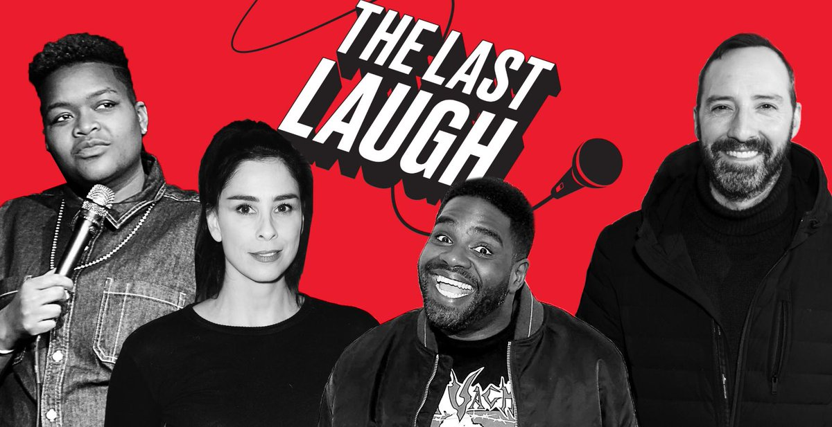 Subscribe now for The Last Laugh, a new podcast hosted by @MattWilstein that explores this cultural/political moment through comedians' eyes—incl. @SarahKSilverman @RonFunches @JenaFriedman & more https://trib.al/enLD9Tj