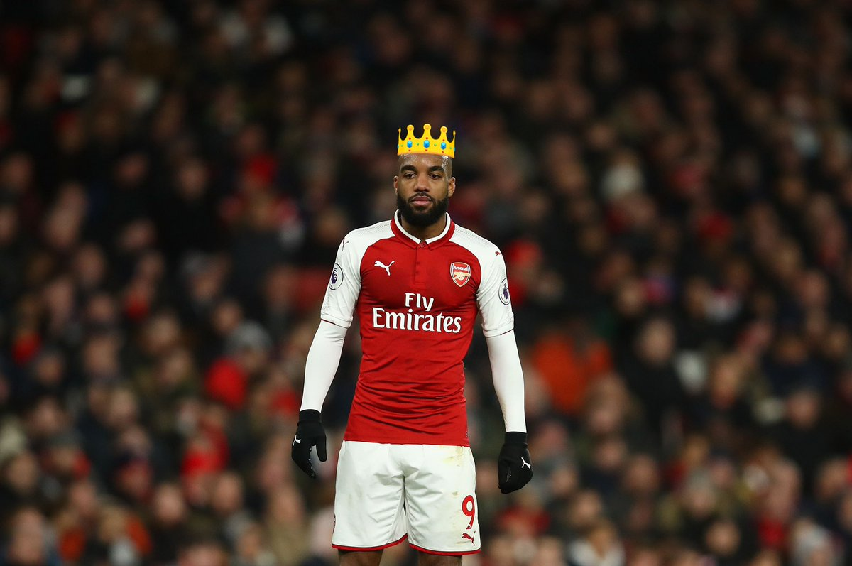 My King. @LacazetteAlex. 👑