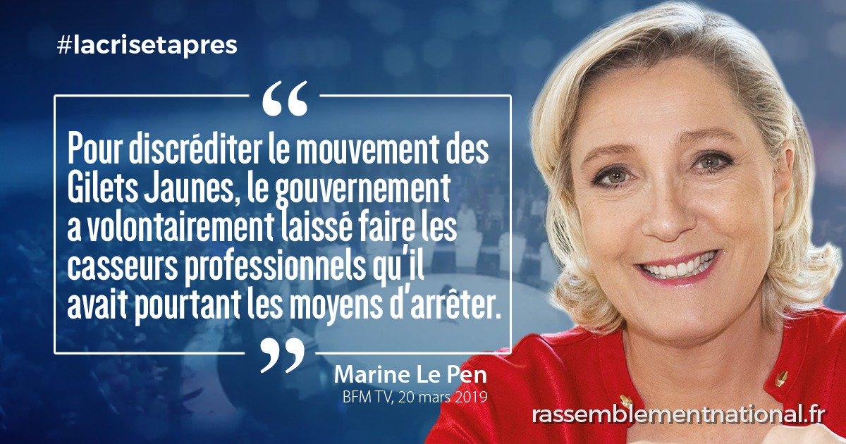 Rassemblement National's photo on #jesoutiensmarine