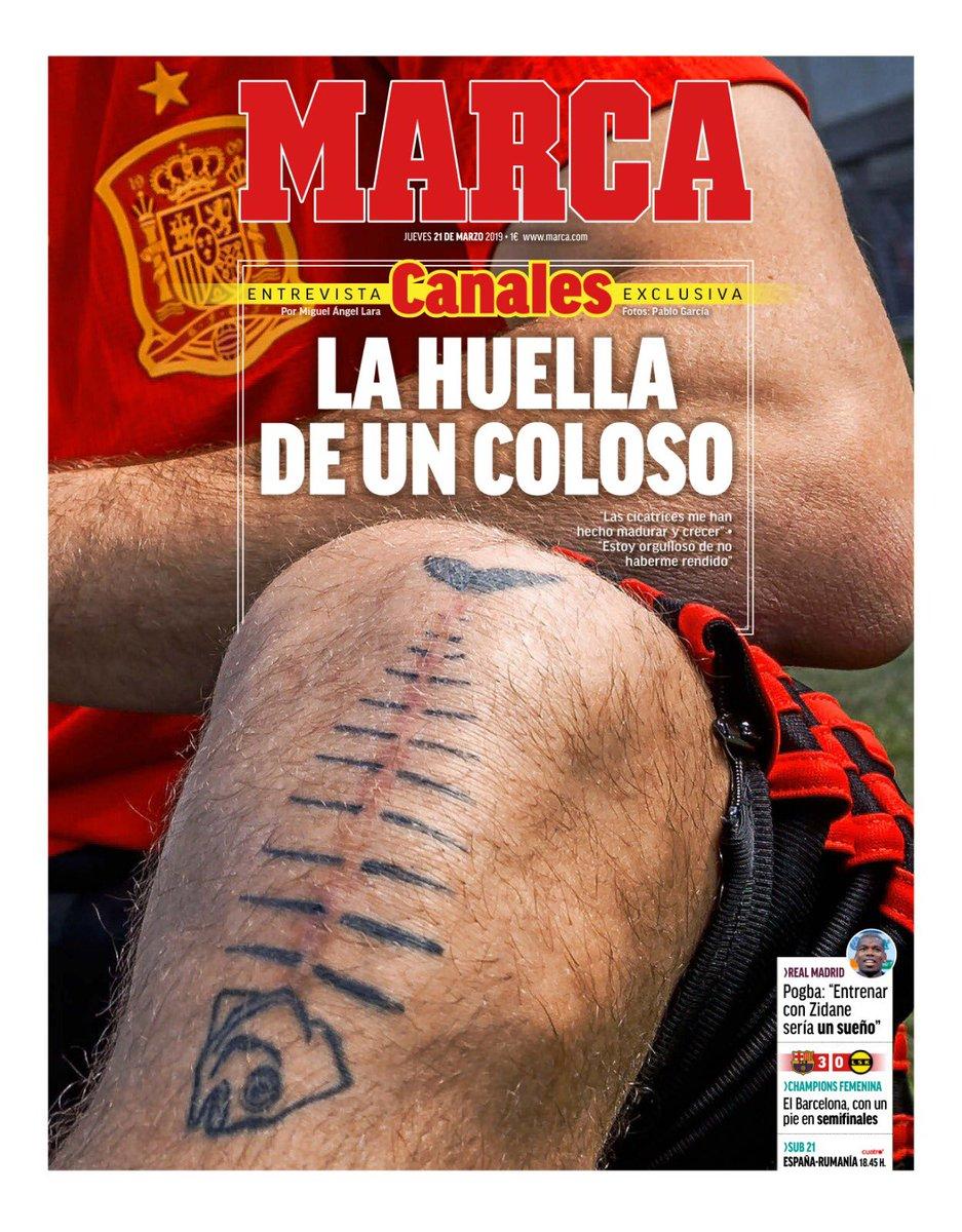 #LaPortada 'La huella de un coloso'