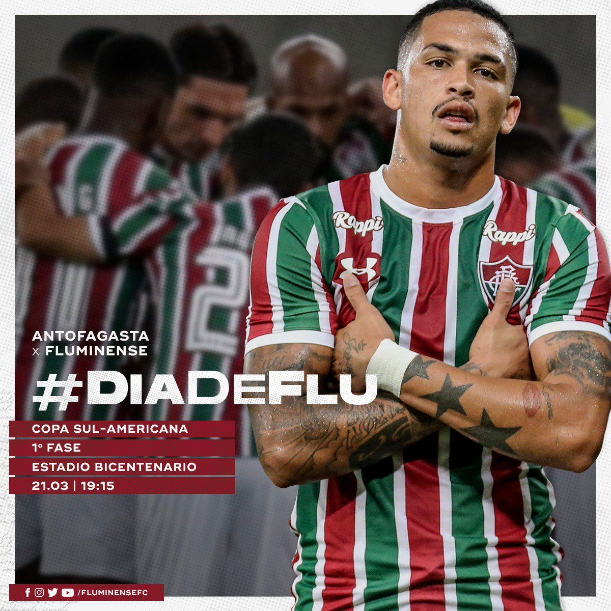Fluminense F.C.'s photo on #DiaDeFlu