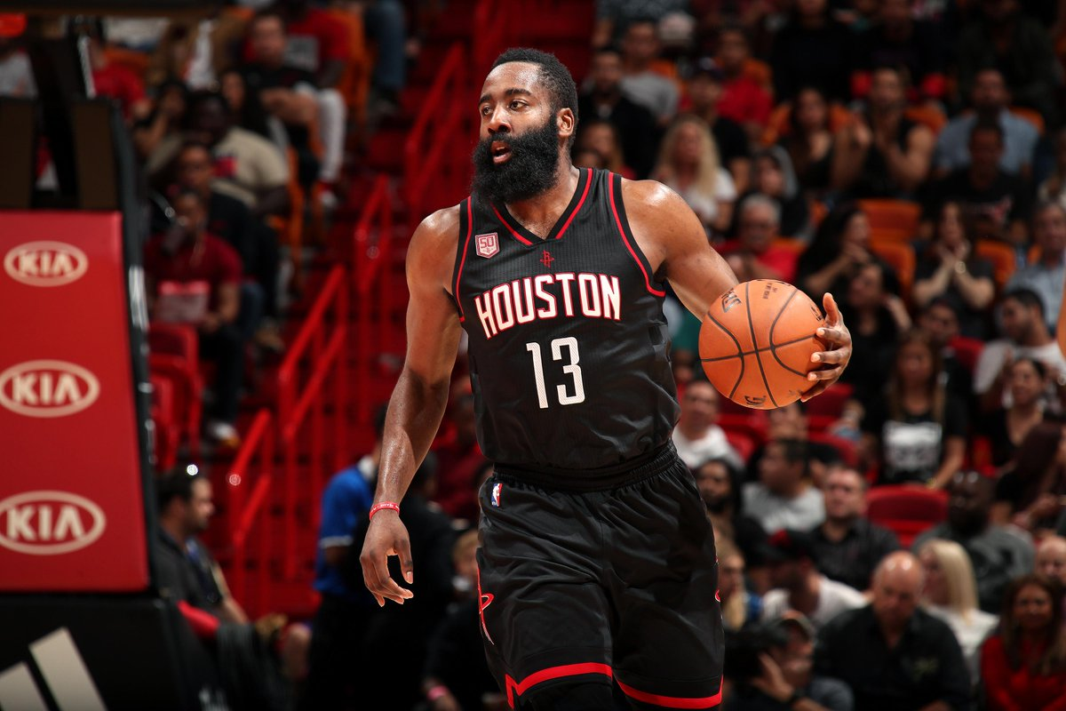 What an achievement!  #JamesHarden has made history in the #NBA.  #MNA_English  #MNA