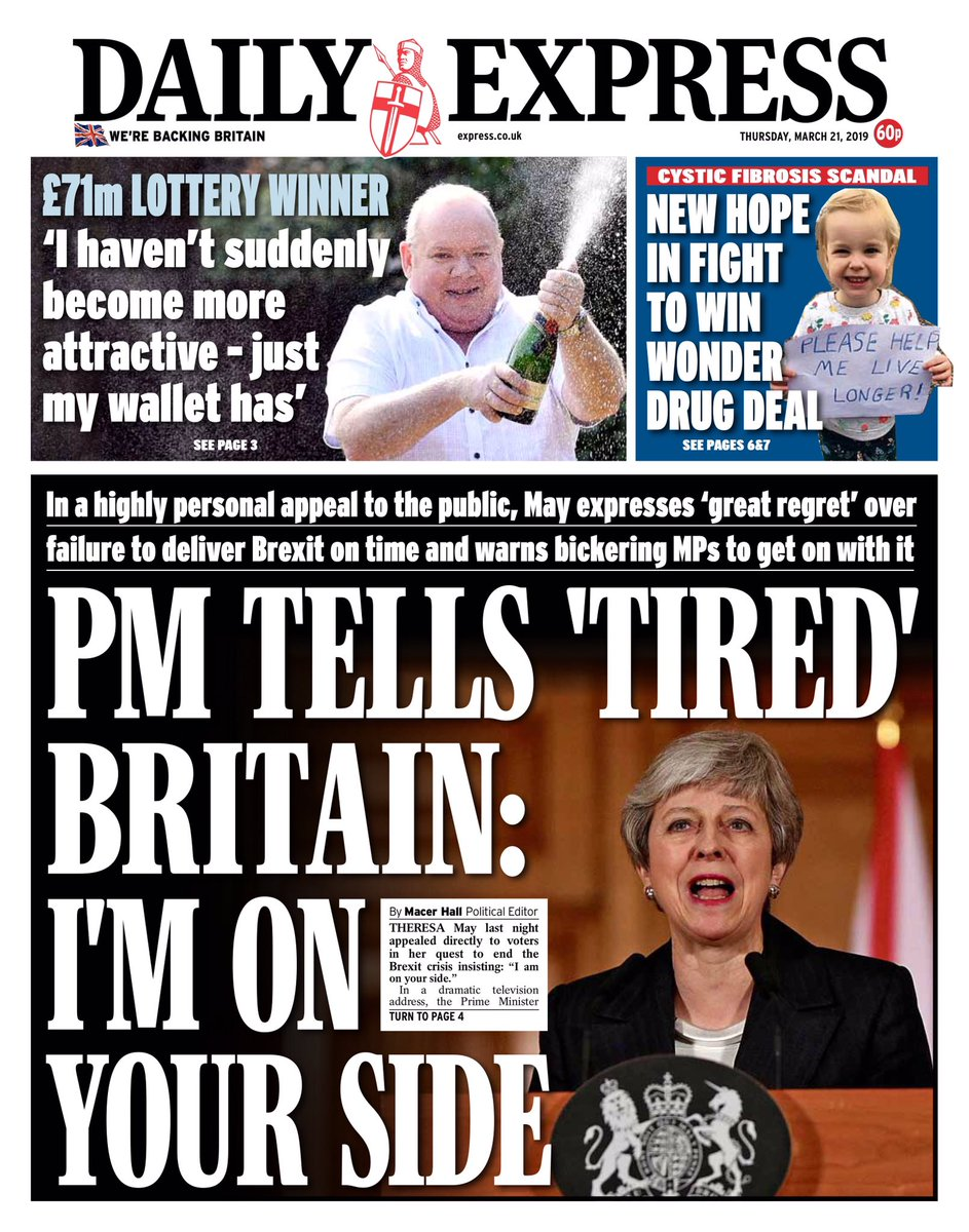 450ca2562 Brexit  Theresa May says high time MPs vote for her deal – as it ...