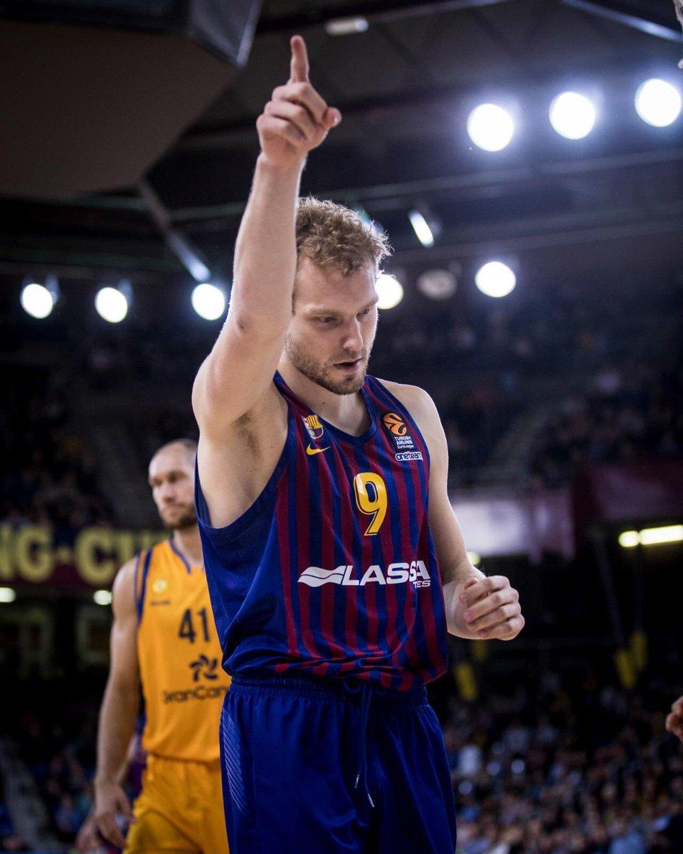 🏀 @EuroLeague Playoffs?   ✅ Done!  🔵🔴 #ForçaBarça!
