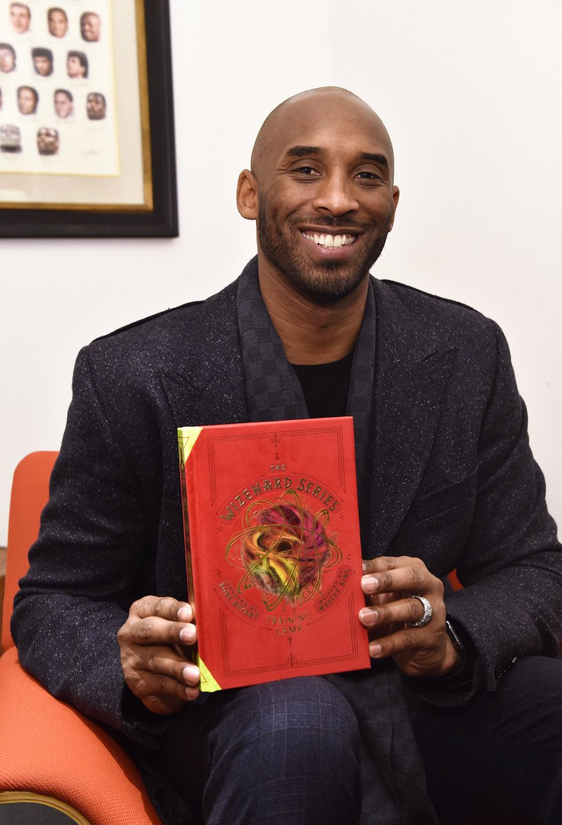 Thank you to the @NBA and everyone who came out to support the launch of The #Wizenard Series. To all the young athletes and eager minds, I created this book for you to learn the lessons that were once passed down to me. http://bit.ly/kbwizenard  (Photo by David Dow/NBAE via Getty)