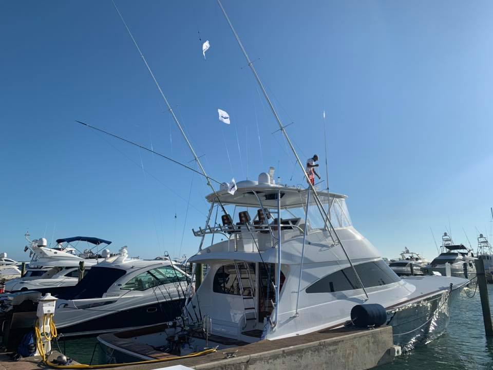Casa de Campo, DR - AEI went 3-6 on Blue Marlin.