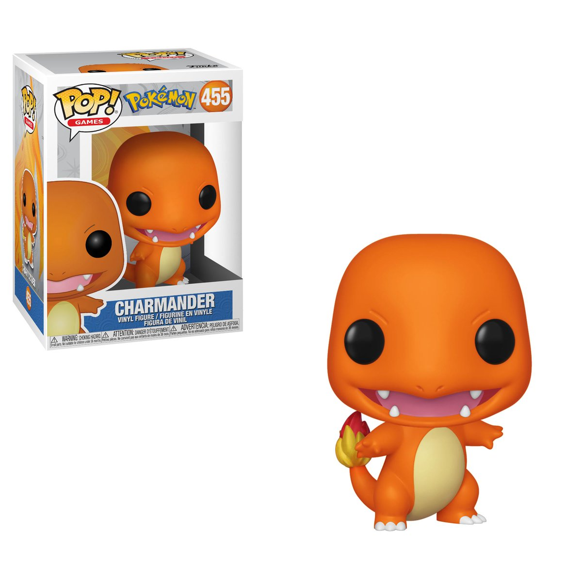 RT & follow @OriginalFunko for a chance to win a Pokémon Charmander Pop!