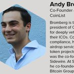 Image for the Tweet beginning: We're happy to welcome @andy_bromberg