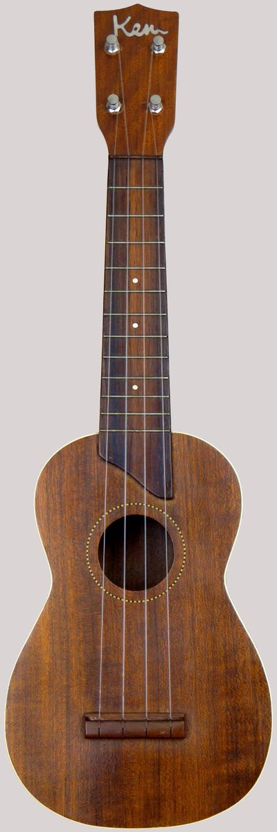 Japanese made B&J Kent Soprano Ukulele