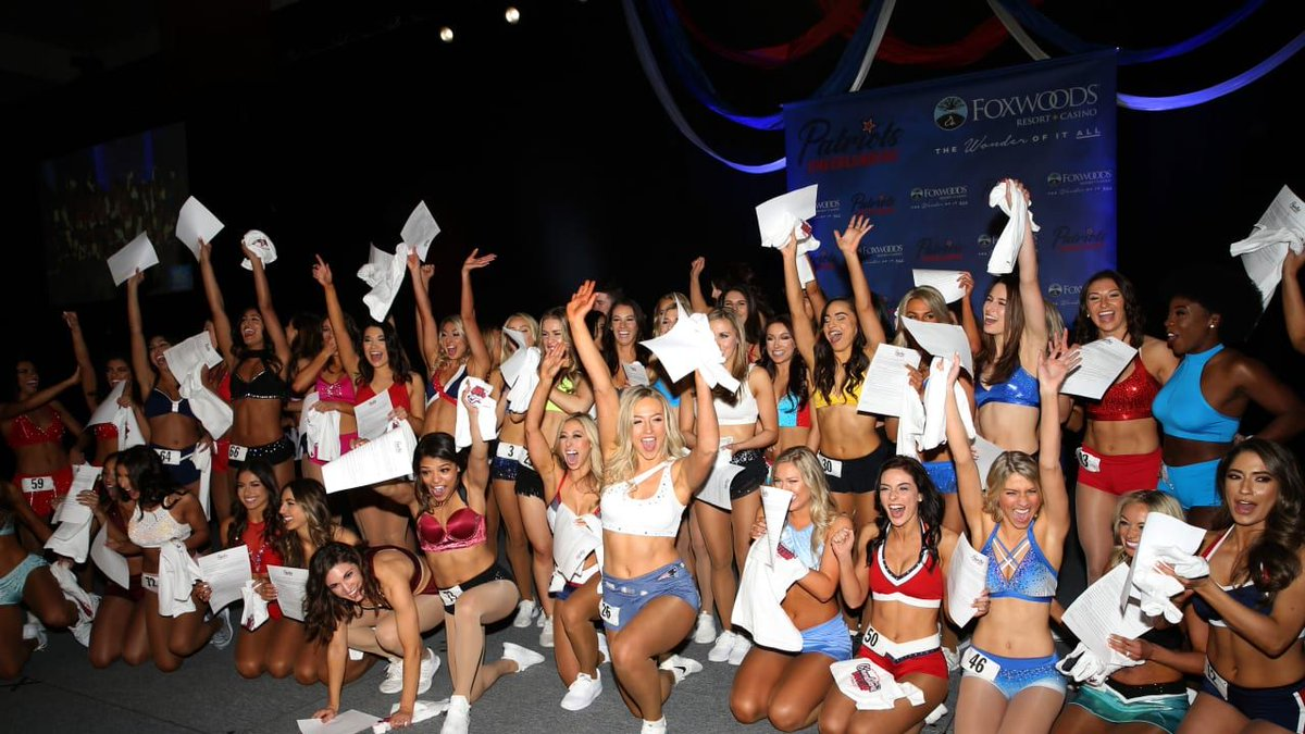 test Twitter Media - One step closer to joining the squad!  All the best 📷s from @PatsCheer's final auditions at @FoxwoodsCT: https://t.co/RX1HNOOIGo https://t.co/mskJGAYXrz