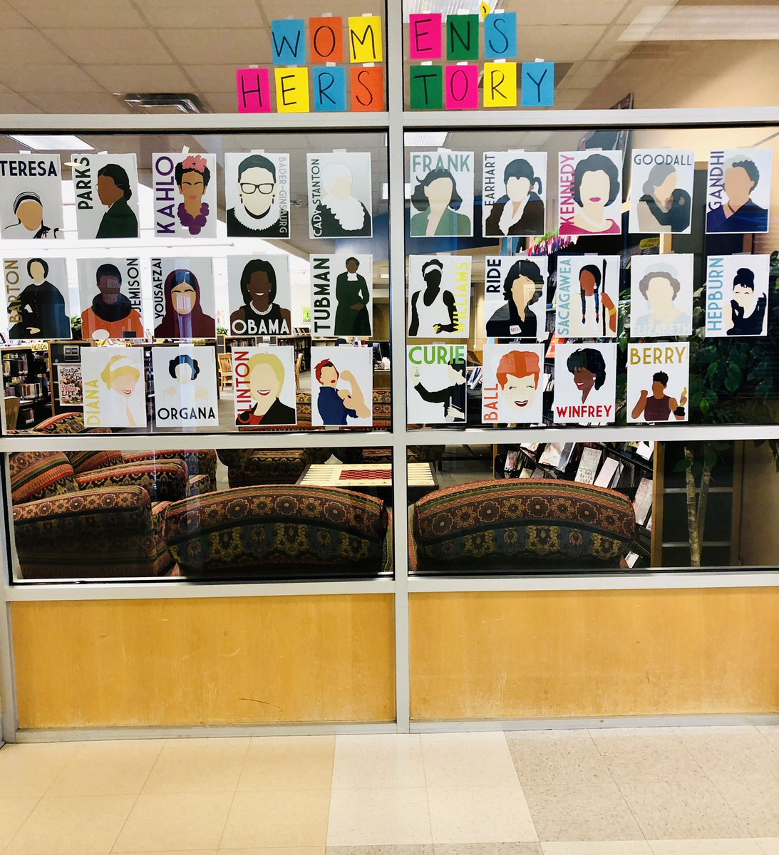 Stop by the library and check out some of our #WomensHistoryMonth  books @deZavalaMS ! #InternationalWomensDay <br>http://pic.twitter.com/TutIDUZbJ8