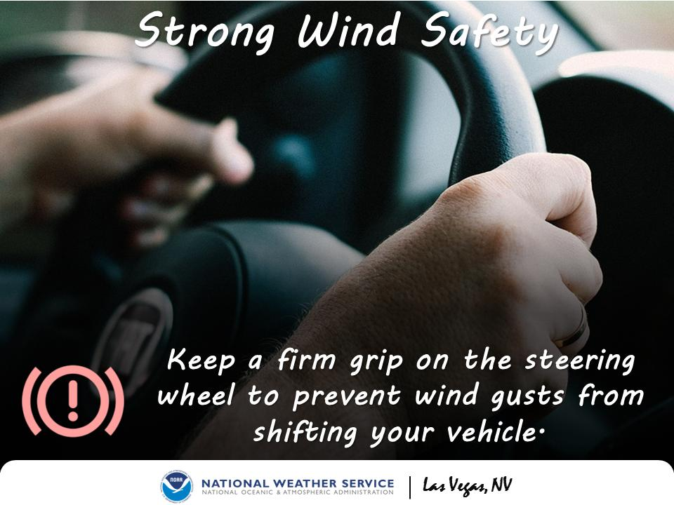535PM: Sudden gusty winds are being reported across #LasVegas, mainly outside of any rain showers. While it should be short-lived, gusts up to 40MPH could blow around loose objects and high profile cars/trucks #nvwx #vegasweather