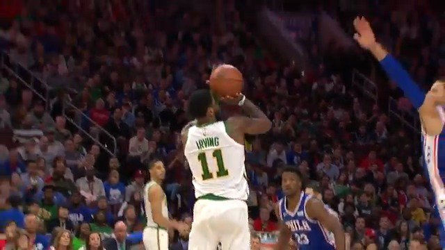 Kyrie Irving (25 PTS) stops and pops!  #CUsRise 78 #HereTheyCome 68  ��: @ESPNNBA https://t.co/xrPG3YAIiz