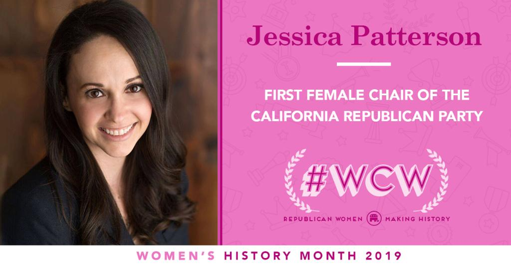 .@millanpatterson made history as the first Chairwoman of the @CAGOP! #WCW #WomensHistoryMonth <br>http://pic.twitter.com/lpXoKnDysb