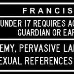 Image for the Tweet beginning: With Francis' uncontrolled foul mouth,