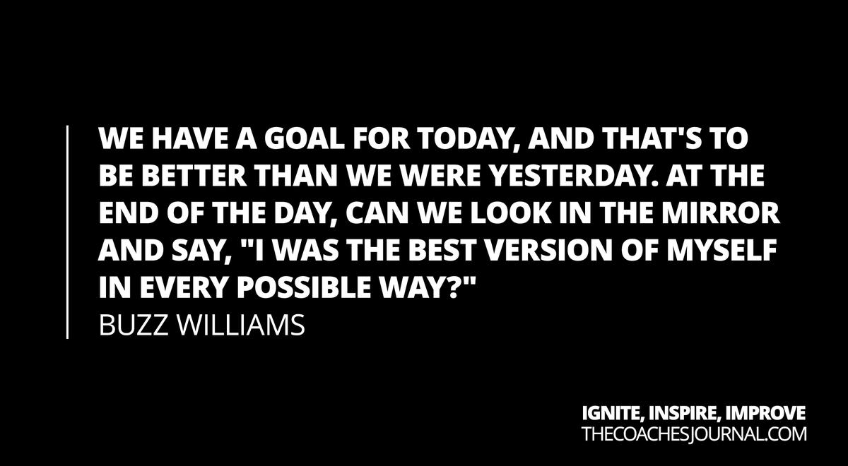 Buzz Williams on mindset: <br>http://pic.twitter.com/cJ4eCVNCzL