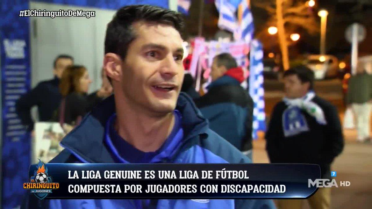 ¡Todo un ejemplo! La historia de superación de Josemi, portero del @CDLeganes en #LaLigaGenuine. El reportaje de @javivalle17 en #ElChiringuitoDeMega