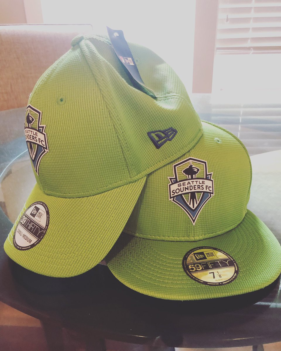 Great start to the New season🔥🔥, @neweracap. Get your official @soundersfc Cap at http://neweracap.com #ad
