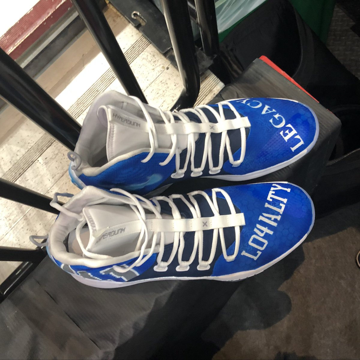 🔥👟 Kicks for @swish41 from a fan!!! #MFFL