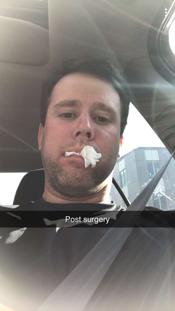 Coach Blake is a legend. Guy gets his wisdom teeth out this morning and comes out to hit fungos in the afternoon #GUY<br>http://pic.twitter.com/XoNbgCCJvw