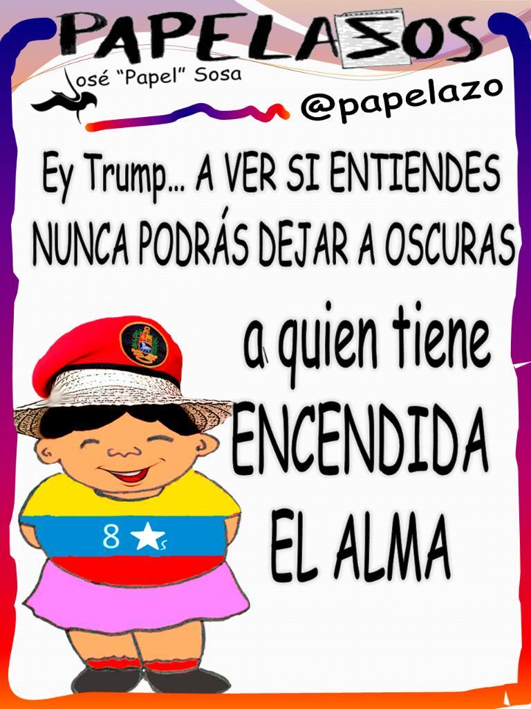 RT @papelazo: #ConChavezPatriaLibre por eso  #MarcoRubioBLOCKED... @ConElMazoDando  @dcabellor https://t.co/9ClUv3RmrW