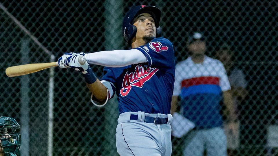 #Indians 18yr old OF prospect George Valera starting MiLB spring training on fire:  5-8 2R 1(2B) 1(3B) 1HR 4RBI 1BB .625 AVG .667 OBP #Future