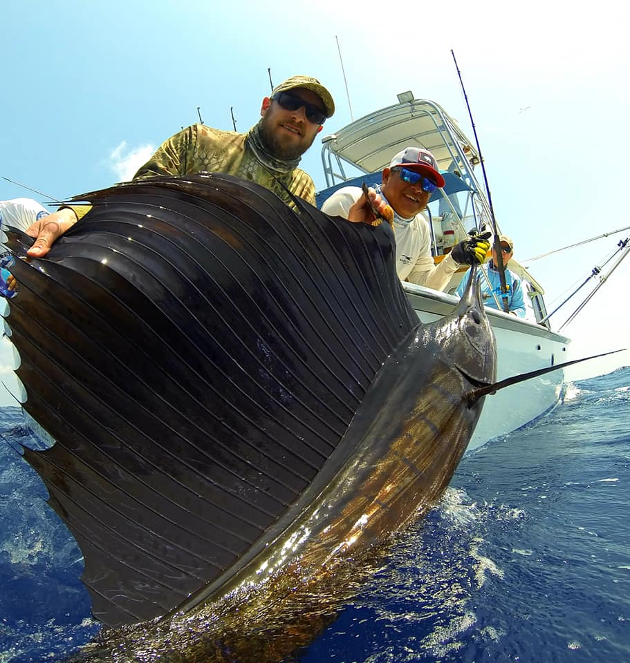 Guatemala - Sur Reel went 25-34 on Sailfish.