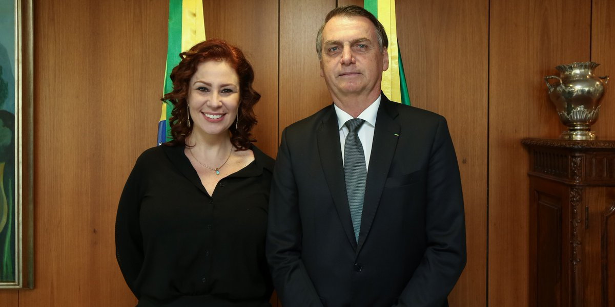 Carla Zambelli's photo on Parabéns Presidente