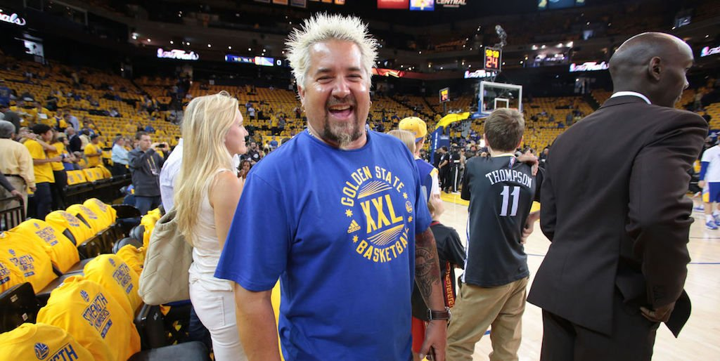 e734370cf91 steph curry sent a pair of custom under armour sneakers to guy fieri s son  just
