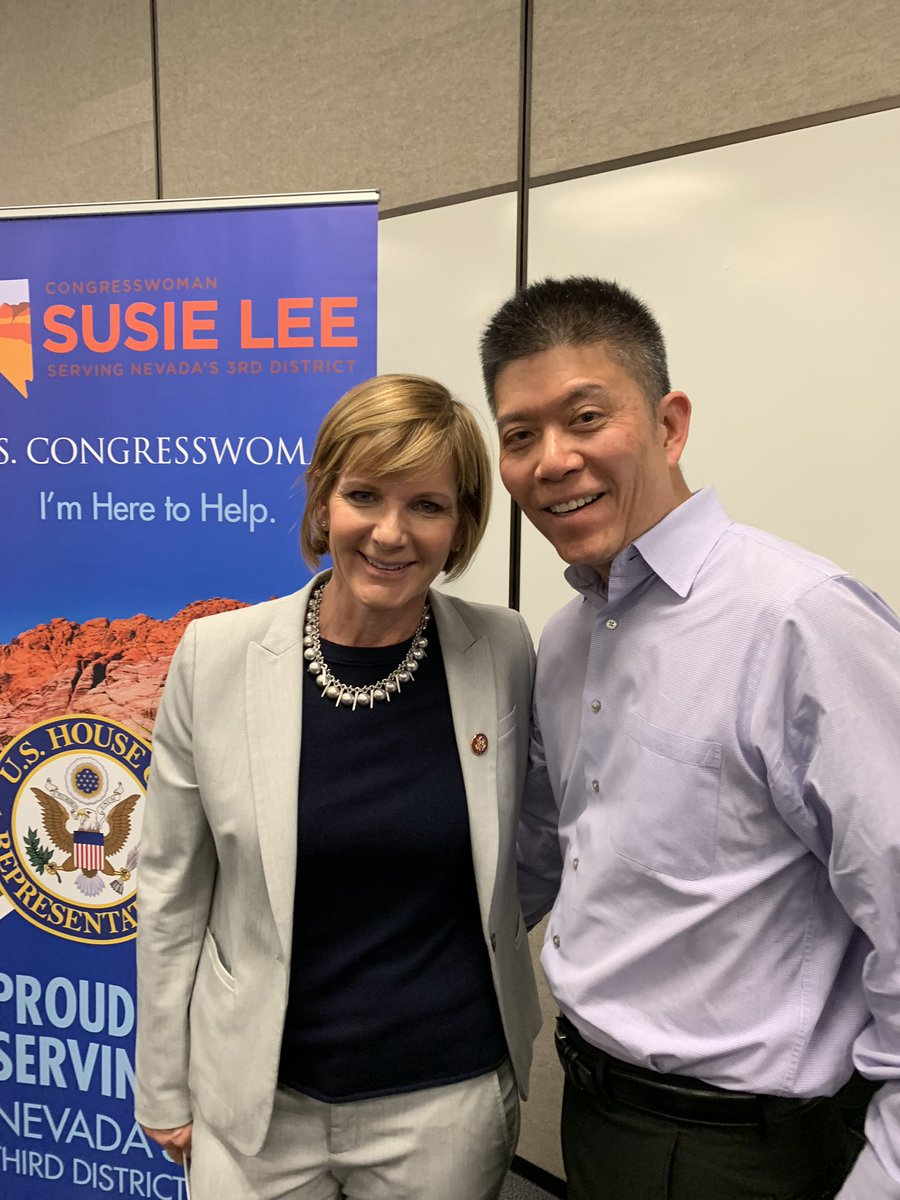 After attending the town hall meeting of @RepSusieLee, I am most impressed with the thoughtfulness of her responses and her professionalism when dealing with those that do not seem interested in having difficult conversations about complex issues. And she supports education, too!